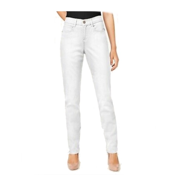 Style & Co Denim - Style & co  Tummy-Control Slim-Leg Jeans high rise